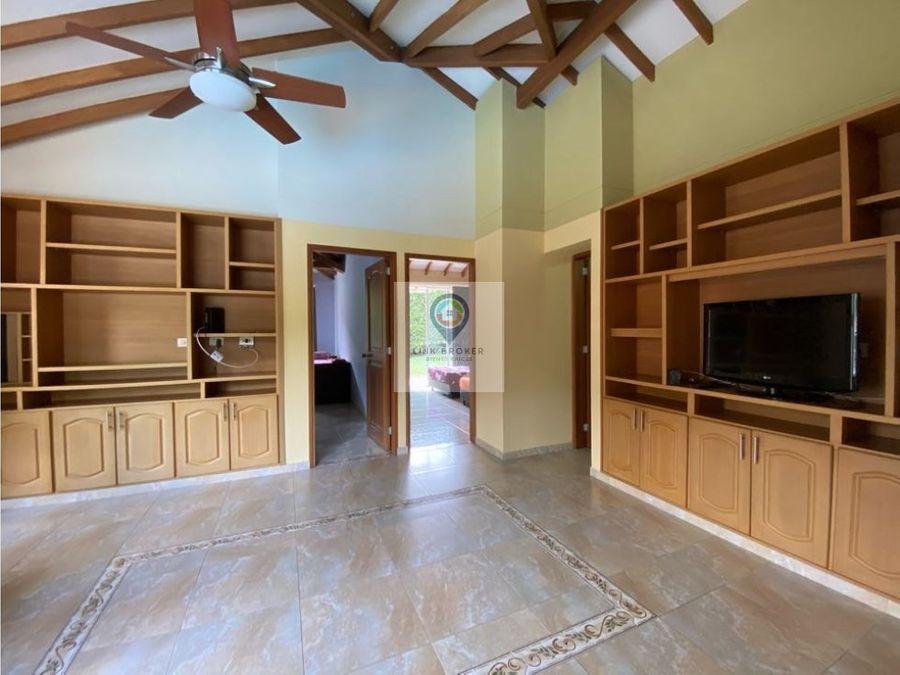 venta espectacular casa campestre sector tigre pereira