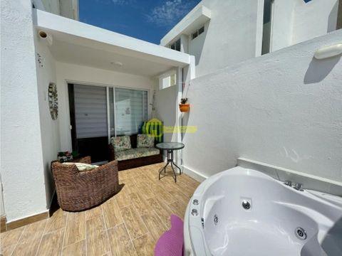 casa de 3 habitaciones a pasos del mar de jaramijo