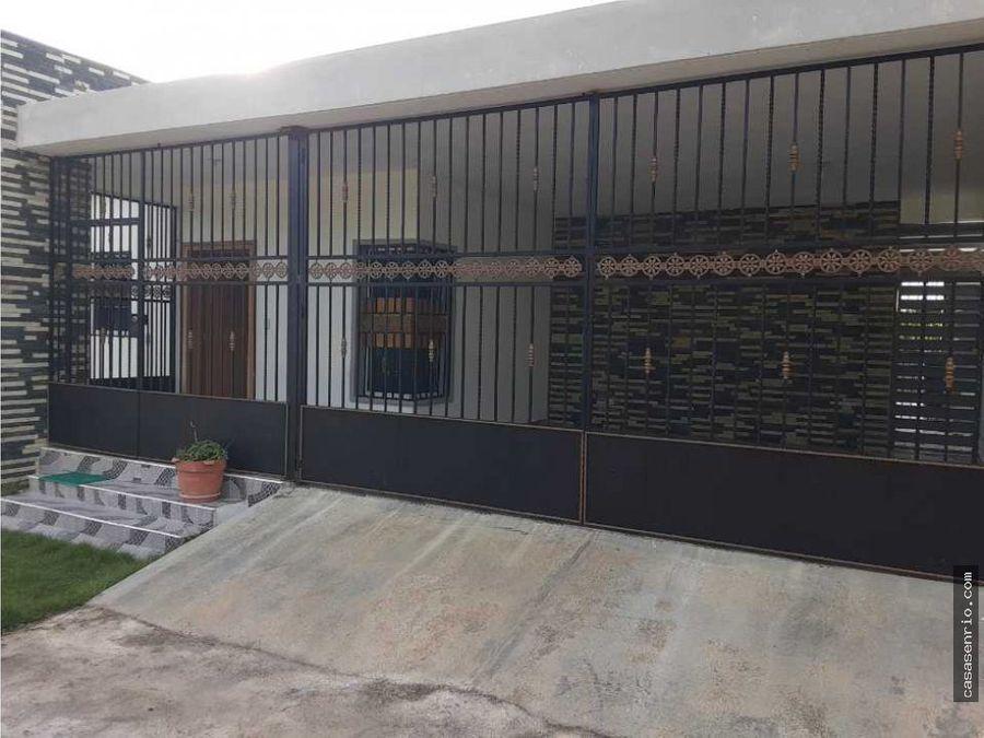 casa de 3h con aire en alquiler en rio san juan