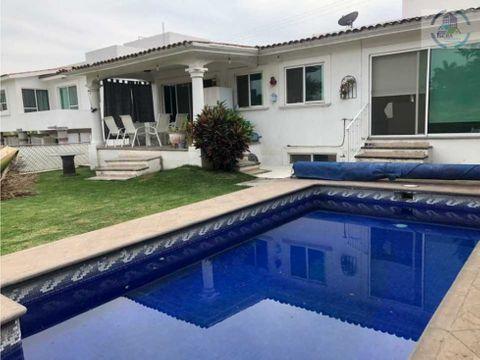 bonita casa en renta anual