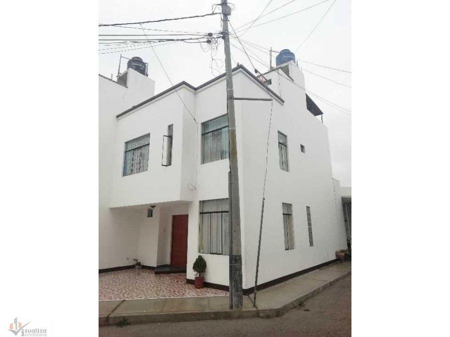 casa de 2 pisos en condominio cerrado cedros