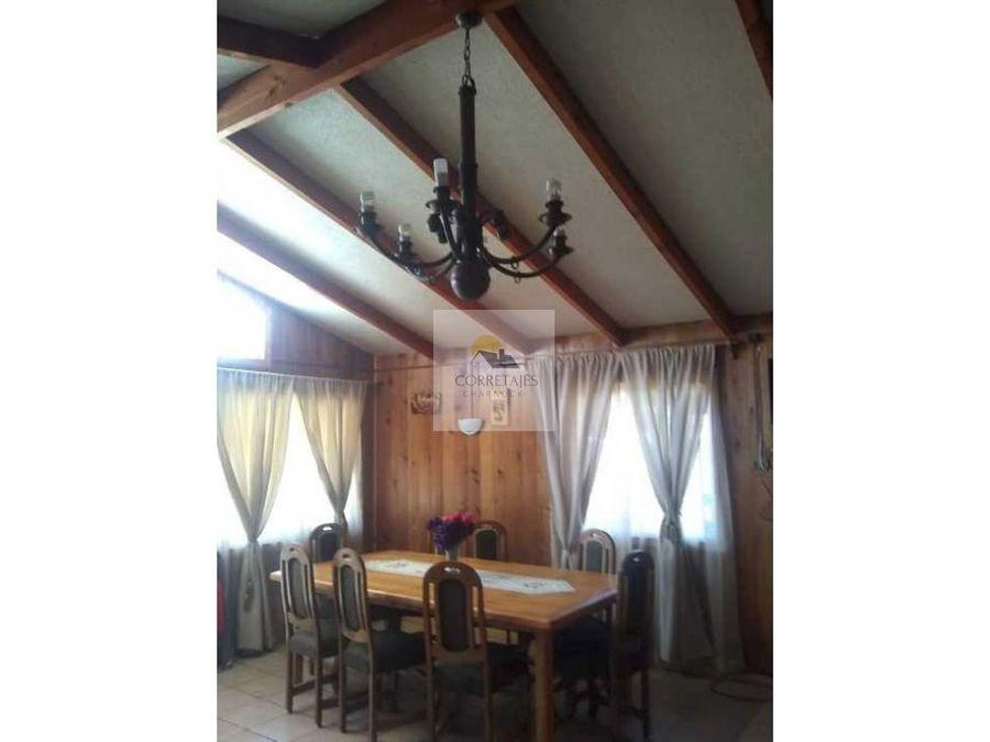 casa de 74 m2 construido terreno de 160 m2 lican ray