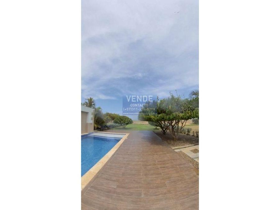 casa frente al mar piscina privada condominio de lujo