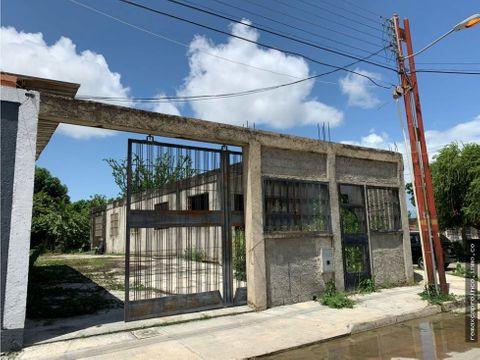 casa de esquina con construccion avanzada en ciudad alianza