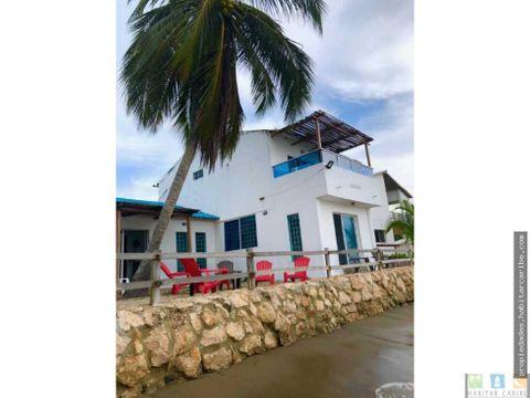 casa de playa en venta el frances via tolu covenas