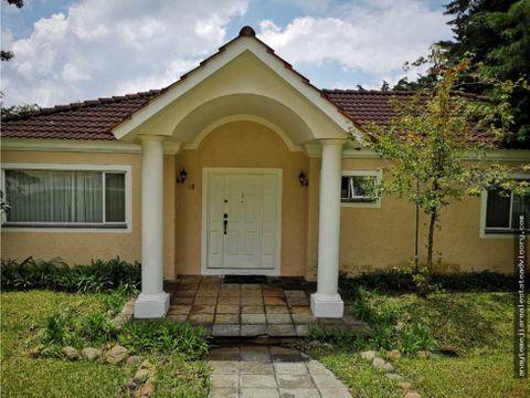 casa de un nivel en renta en casa y campo km23 caes
