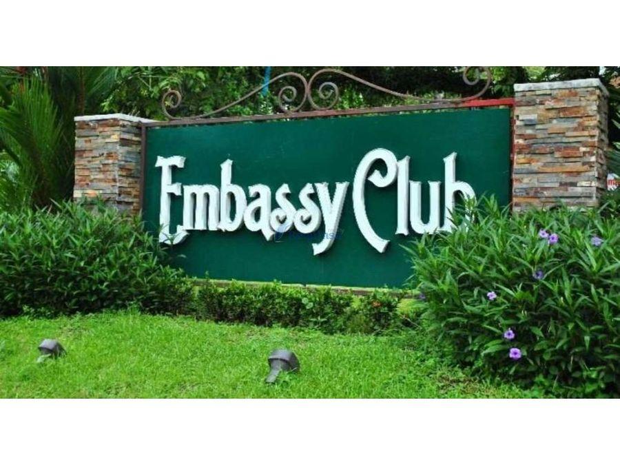 casa embassy club lista para ocupar