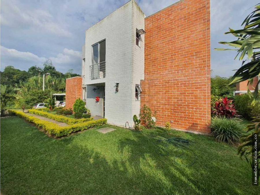 casa en condominio campestre praderas de verde horizonte
