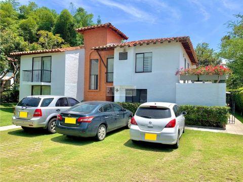 casa en venta en condominio en pance cali fd