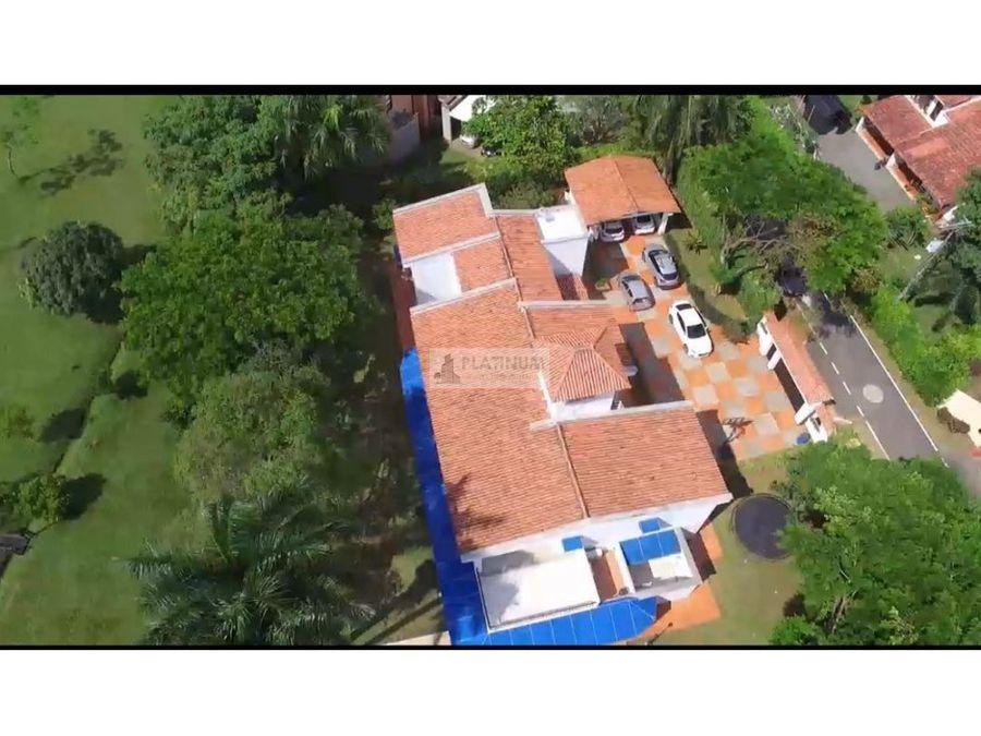 casa en venta en condominio en las mercedes jamundi