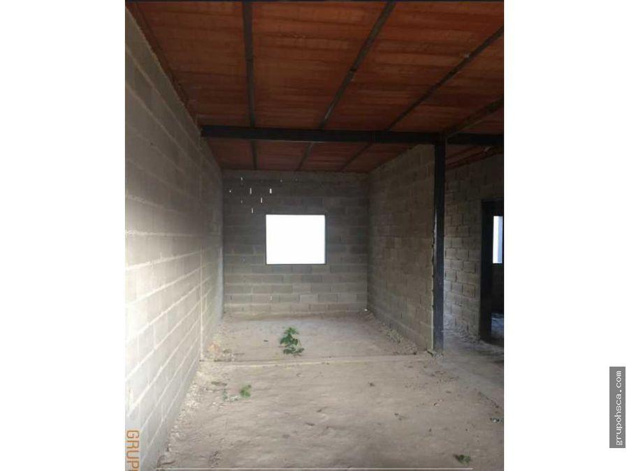 casa en construccion urb valle fresco turmero