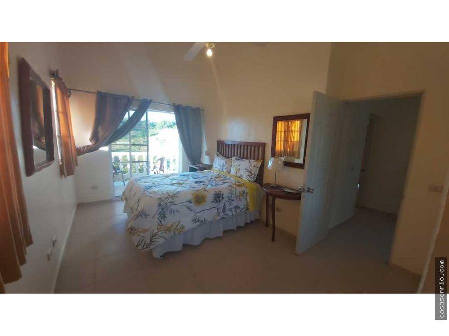 casa en alquiler 2 habitaciones con piscina en rio de san juan