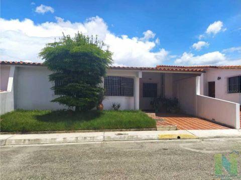 casa en alquiler villa morena cabudare