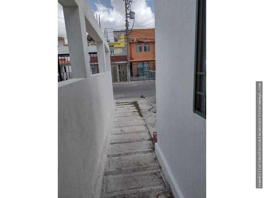 casa en fraccionamiento cancun