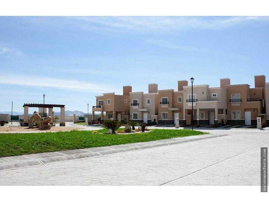 casa en fraccionamiento residencial al sur de pachuca en privada