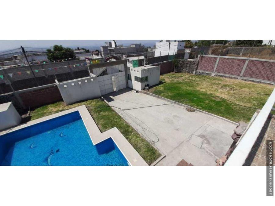 casa en jardines de tlayacapan en venta con 1000 m2 de terreno