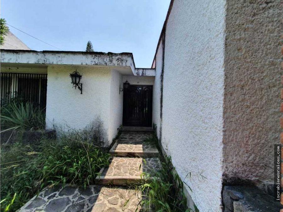 casa en oportunidad para remodelar en lomas de cocoyoc
