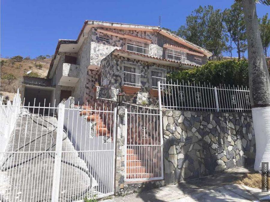 casa en naguanagua urbanizacion carialinda vende ancoven master