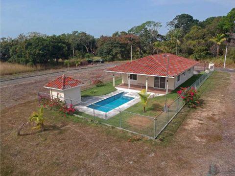 casa amoblada 2 recamaras con piscina privada en santa clara