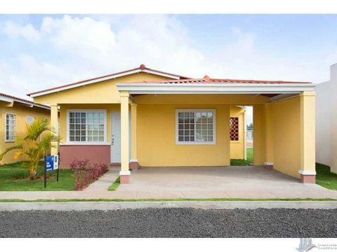 casa en pradera azul nuevo tocumen 3 rec 2 banos 2 parking