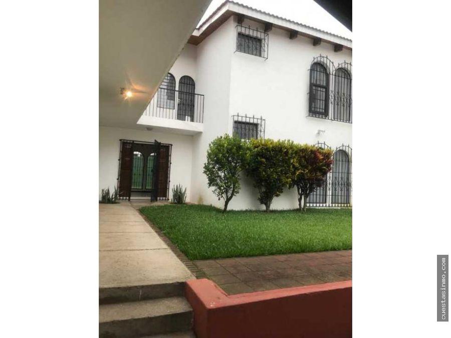 casa en renta en colonia el campo zona 14 1