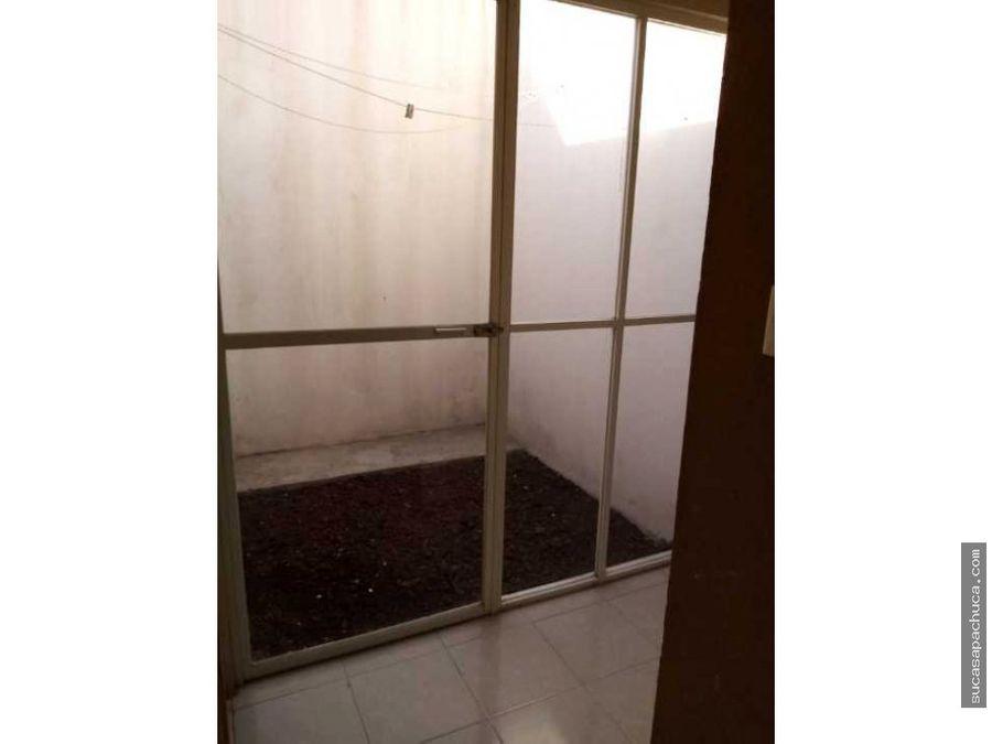 casa en renta en privada 3 recamaras