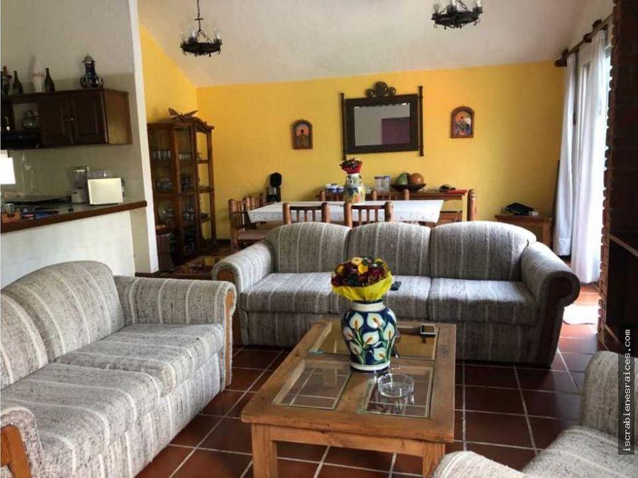 casa en renta por fin de semana en lomas de cocoyoc