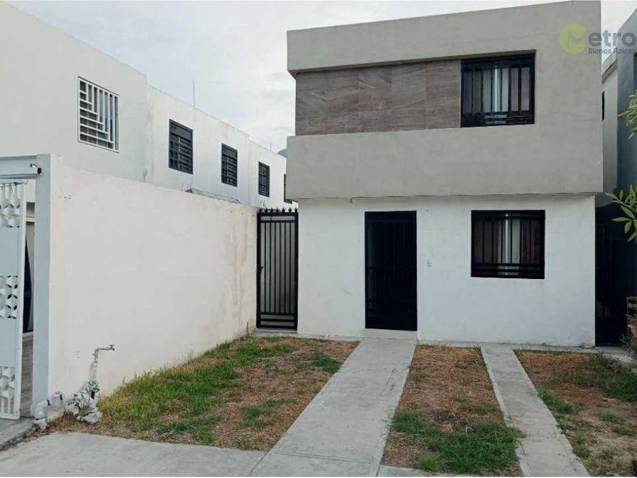 casa en renta veranda residencial garcia asg