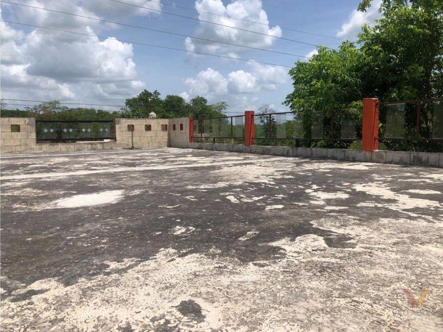 casa en venta en temozon yucatan