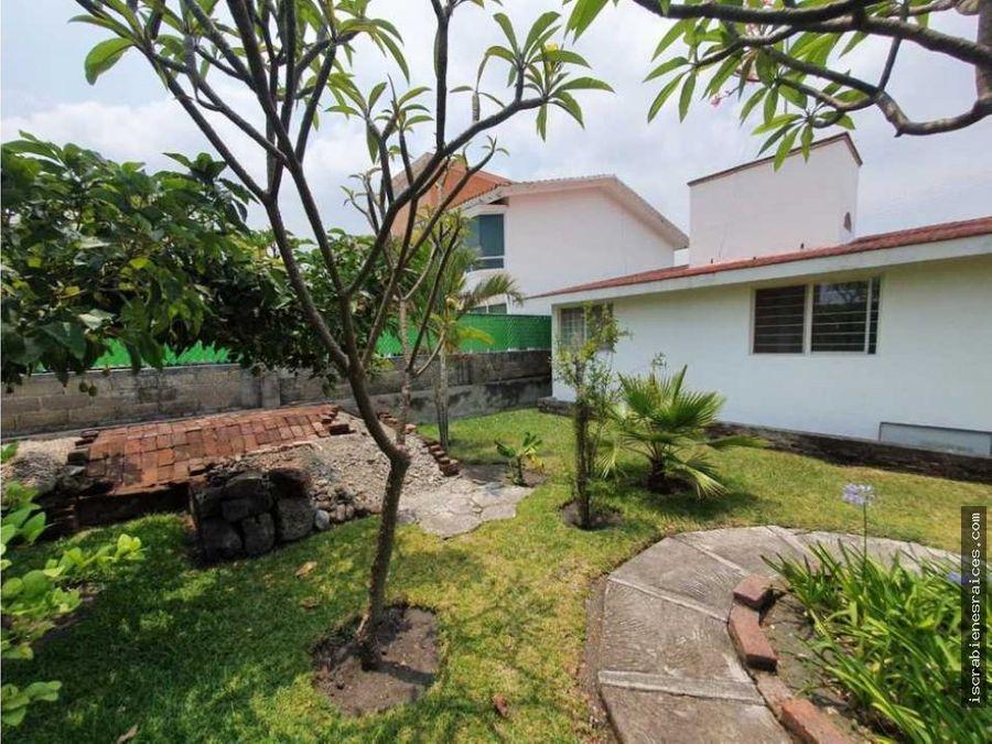 casa en un nivel remodelada en lomas de cocoyoc