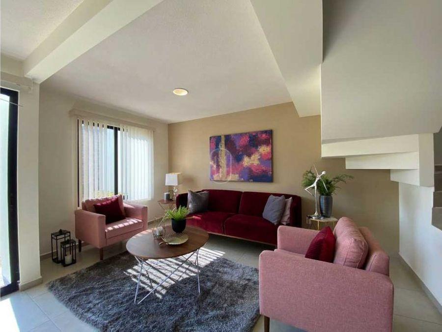casa en venta 2 habitaciones estudio zibata el marques queretaro
