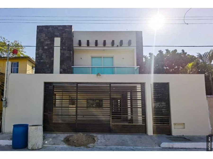 casa en venta col obrera ciudad madero