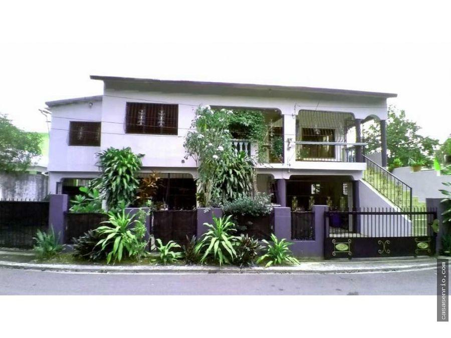 casa en venta con dos apartamentos excelente para inversion
