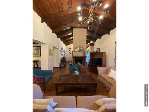 casa en venta cond dona soledad antigua directo