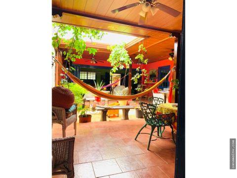 casa en venta chitre tipo colonial chalet 4845ma