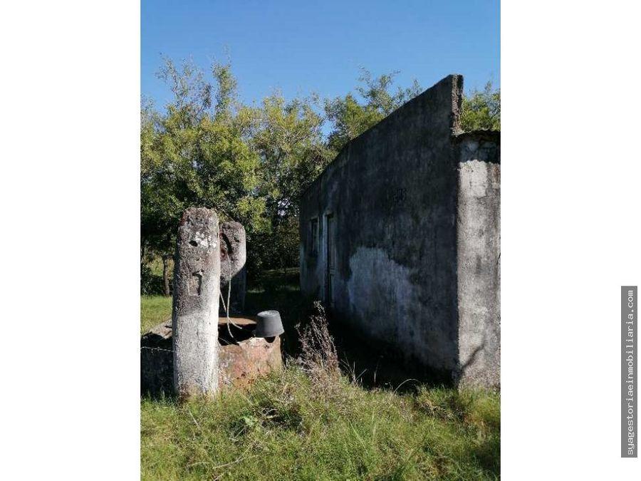 casa en venta a reciclar minas lavalleja