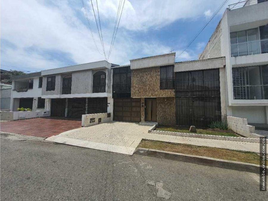 casa en venta barrio el ingenio cali