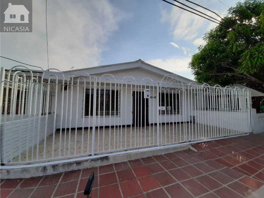 casa en venta barrio las palmas barranquilla