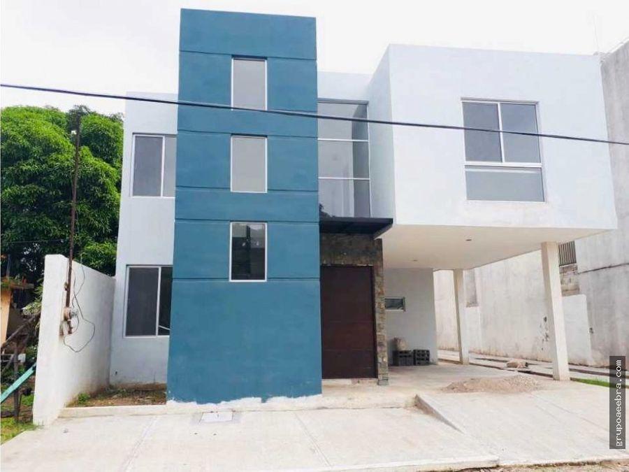casa en venta en col villahermosa