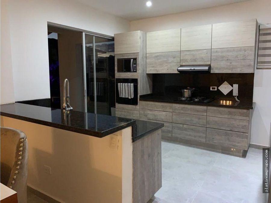 casa en venta en condominio en pance cali cc
