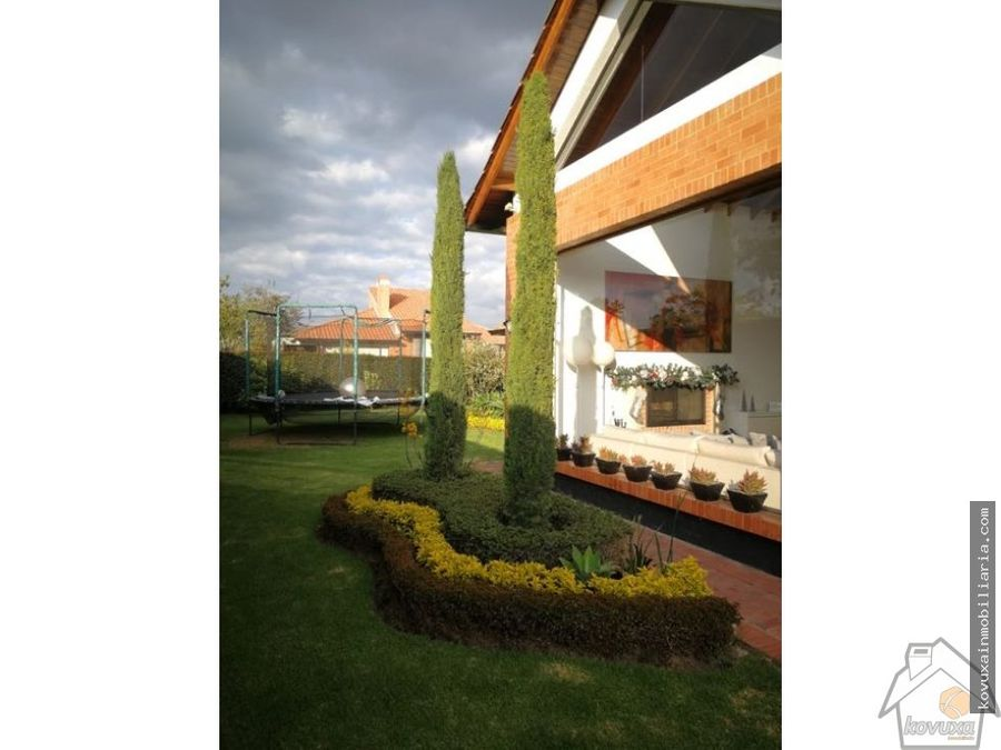 casa en venta en cajica sausalito
