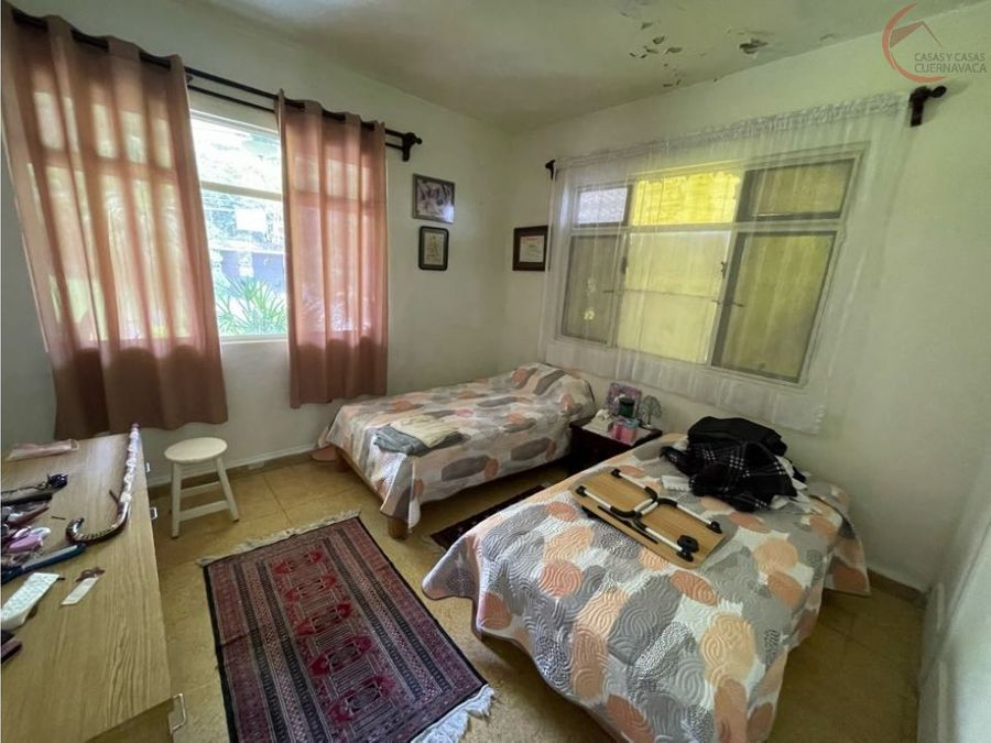 casa en venta en cuernavaca de 1 nivel manantiales