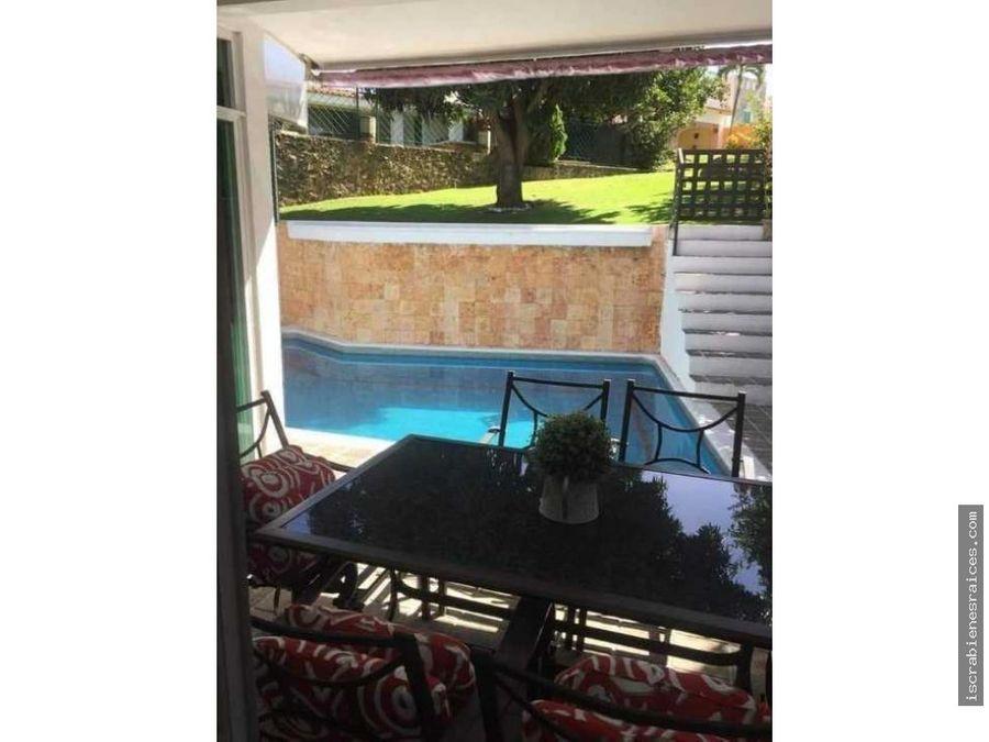 casa en venta en el fraccionamiento lomas de cocoyoc