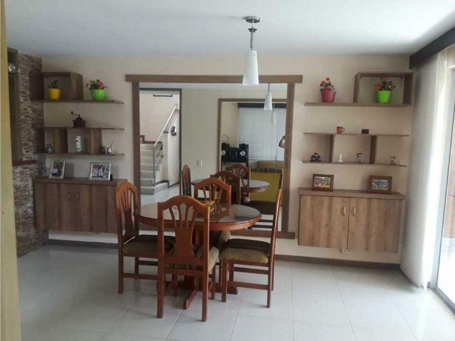 casa en venta en en condominio en alfaguara jamundi