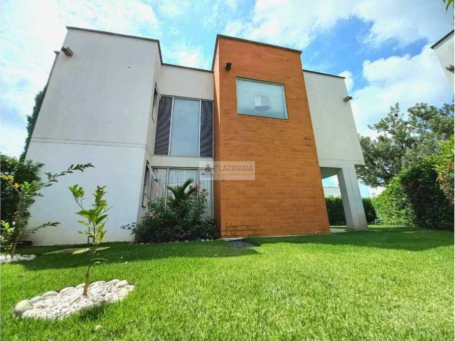 casa en venta en el sector la morada jamundi fd