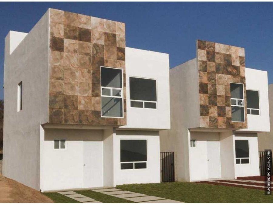 casa en venta en fraccionamiento privado en tulancingo