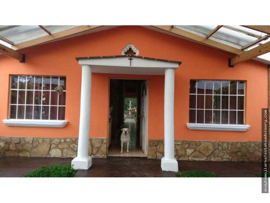 casa en venta en km 40 carretera interamericana sacatepequez