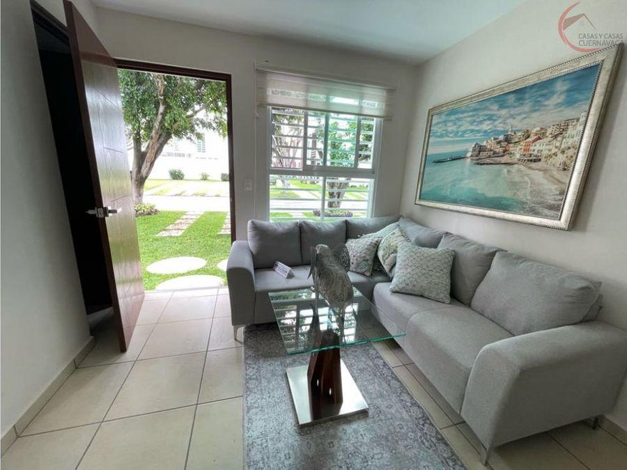 casa en venta en jiutepec con seguridad