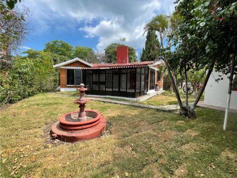 casa en venta en jiutepec de 1 nivel el paraje
