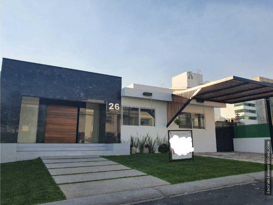 casa en venta en lomas de cocoyoc en una planta